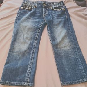 Miss Me Cropped Jeans 30
